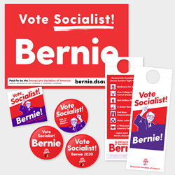 Get Out The Vote for Bernie Kit