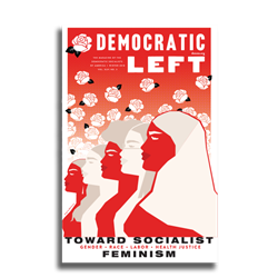 Toward Socialist Feminism Feminism Poster - Democratic Left Cover Limited Edition