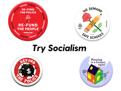 Try Socialism Button Pack